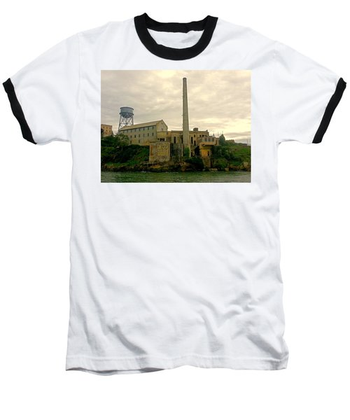 Alcatraz From The West Baseball T-Shirt