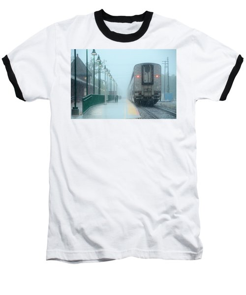 All Aboard Baseball T-Shirt by Charlotte Schafer