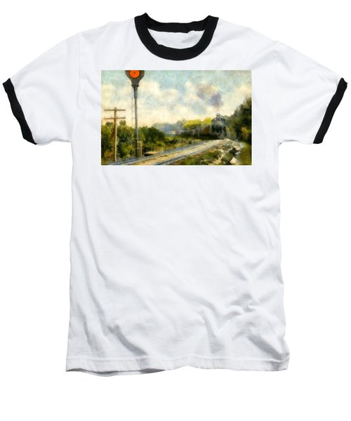 All Clear On The Pere Marquette Railway  Baseball T-Shirt