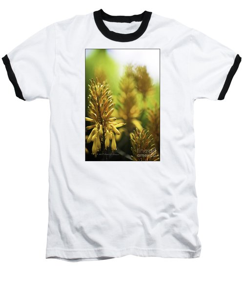 Aloe 'kujo' Plant Baseball T-Shirt