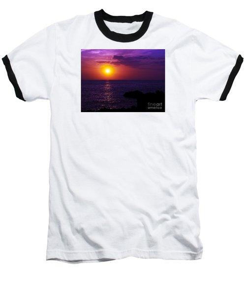 Aloha I Baseball T-Shirt by Patricia Griffin Brett