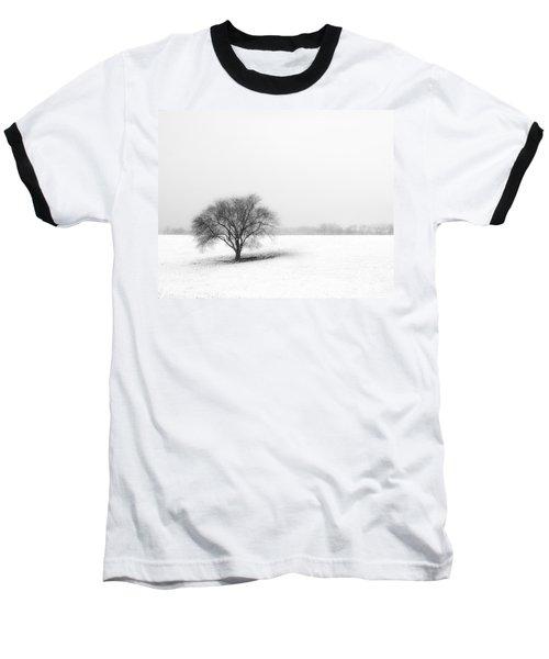 Alone Baseball T-Shirt by Don Spenner