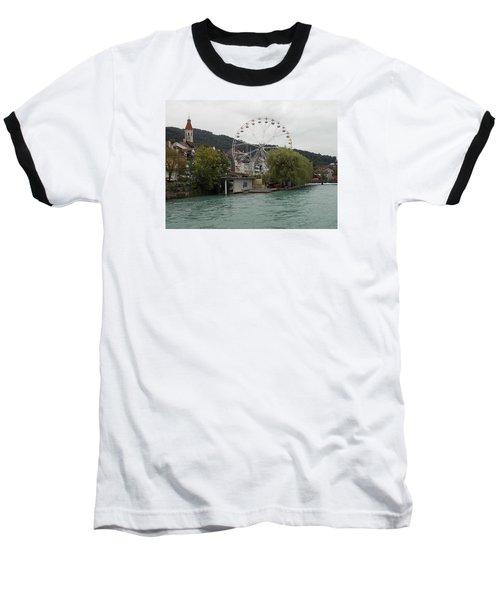 Along The River In Thun Baseball T-Shirt