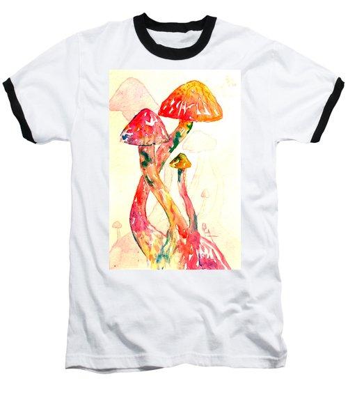 Altered Visions IIi Baseball T-Shirt