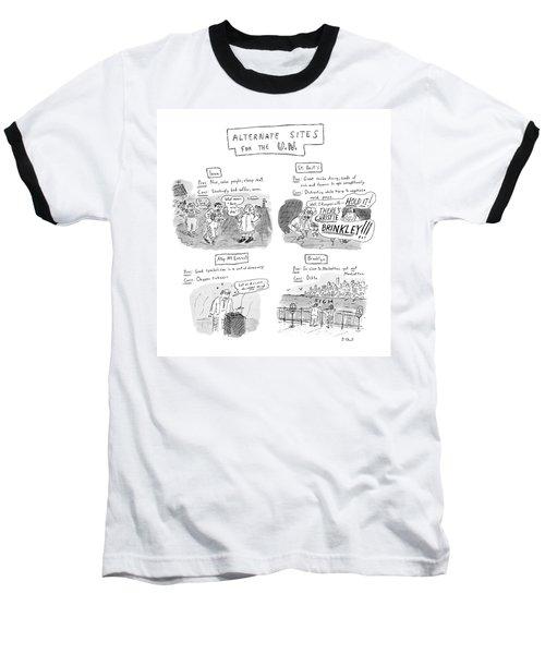 Alternate Sites For The U.n Baseball T-Shirt