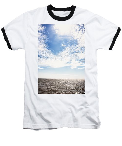 Altocumulus At Sea Baseball T-Shirt