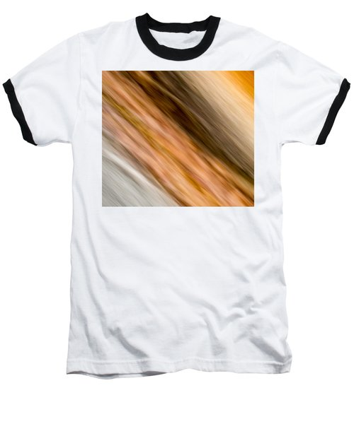 Amber Diagonal Baseball T-Shirt by Darryl Dalton