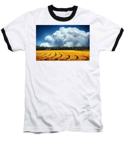 Amber Fields Baseball T-Shirt