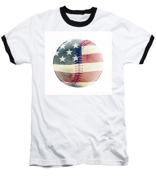 American Baseball Baseball T-Shirt by Terry DeLuco