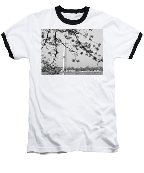 Amongst The Cherry Blossoms Baseball T-Shirt