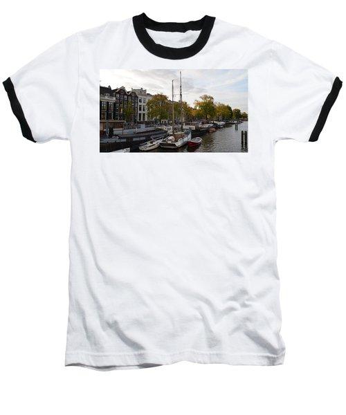 Amstel River Baseball T-Shirt by Cheryl Miller