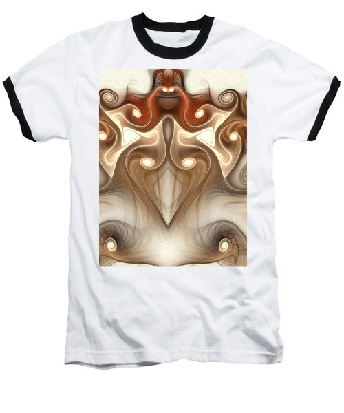 Baseball T-Shirt featuring the digital art Ancient Carving by Svetlana Nikolova