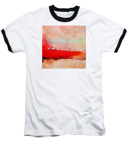 Baseball T-Shirt featuring the painting Ancient Dreams by M Diane Bonaparte