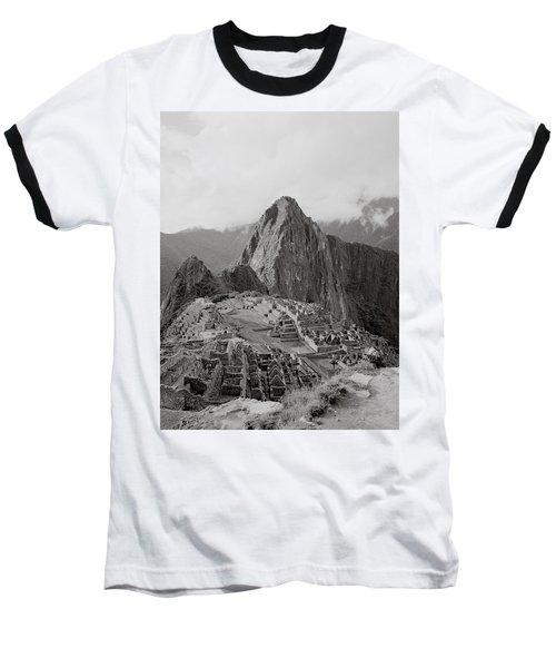 Ancient Machu Picchu Baseball T-Shirt