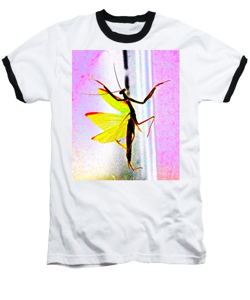 And Now Our Featured Dancer Baseball T-Shirt by Xn Tyler