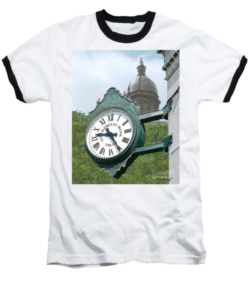 And The Time Is Baseball T-Shirt
