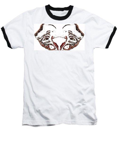 Baseball T-Shirt featuring the digital art Androidinous by Richard Thomas