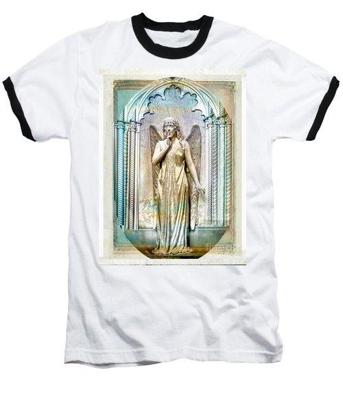 Angel Of Silence.genoa Baseball T-Shirt