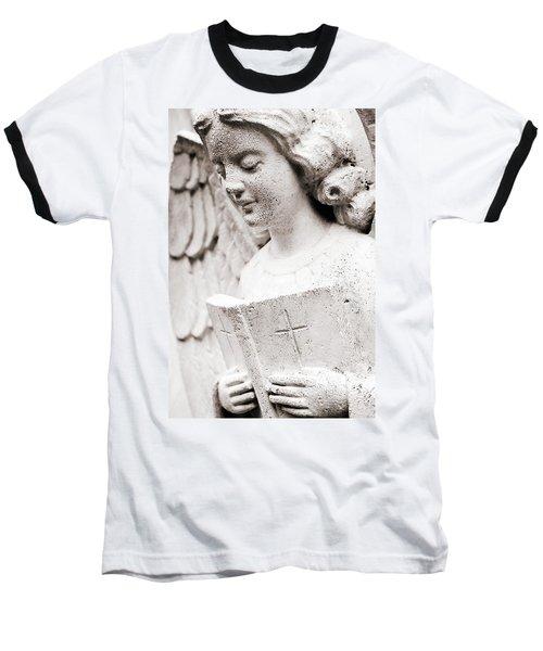 Angels Prayers And Miracles Baseball T-Shirt