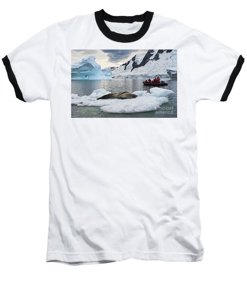 Antarctic Serenity... Baseball T-Shirt