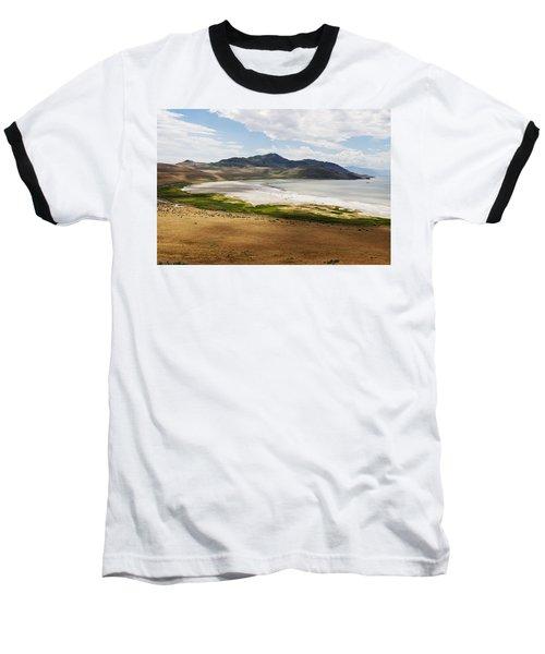 Baseball T-Shirt featuring the photograph Antelope Island by Belinda Greb