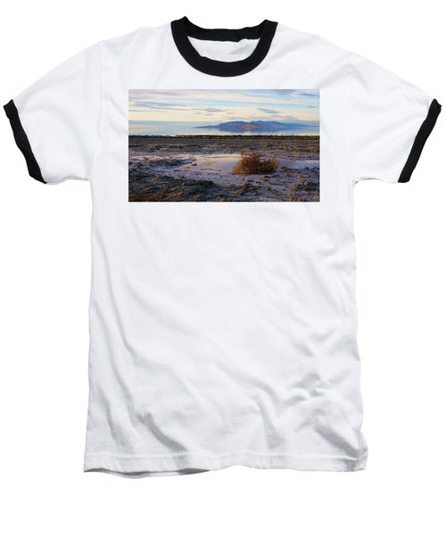 Baseball T-Shirt featuring the photograph Antelope Island - Tumble Weed by Ely Arsha