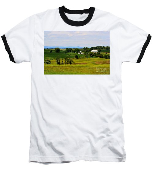 Antietam Battlefield And Mumma Farm Baseball T-Shirt