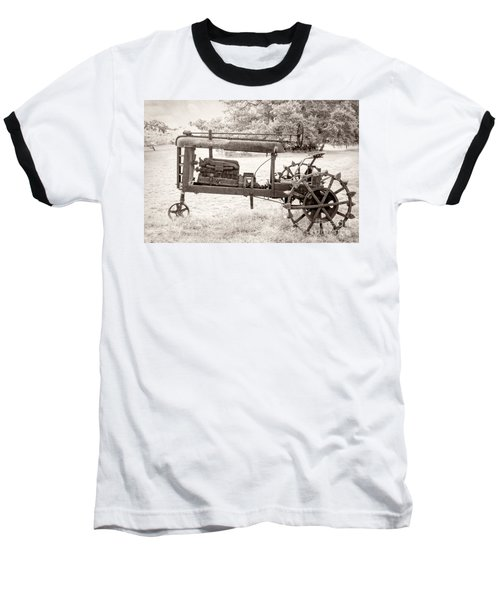 Antique Tractor Baseball T-Shirt