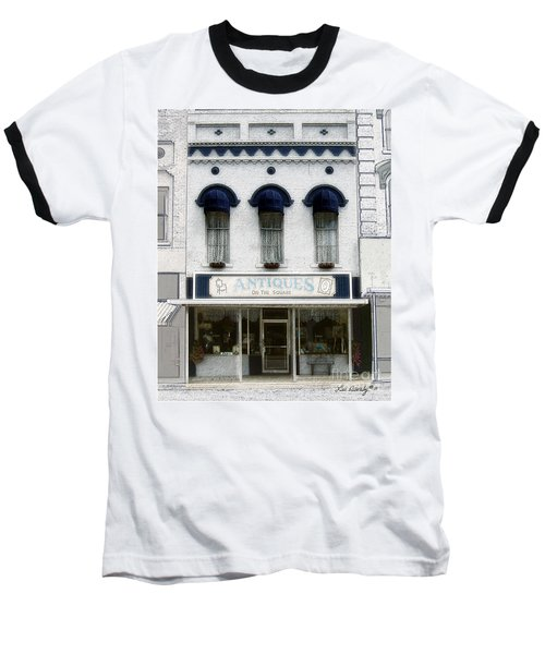 Antiques On The Square Baseball T-Shirt