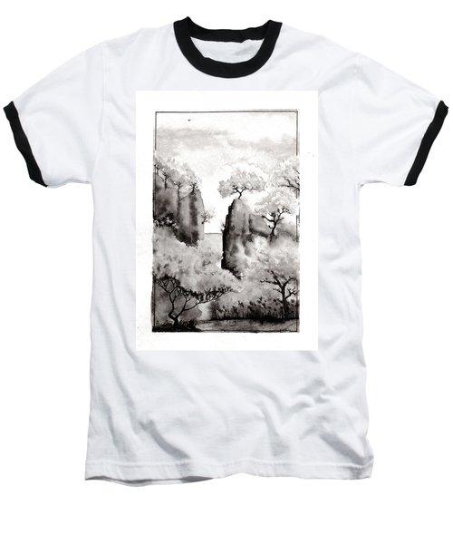 Arbres Separes Baseball T-Shirt