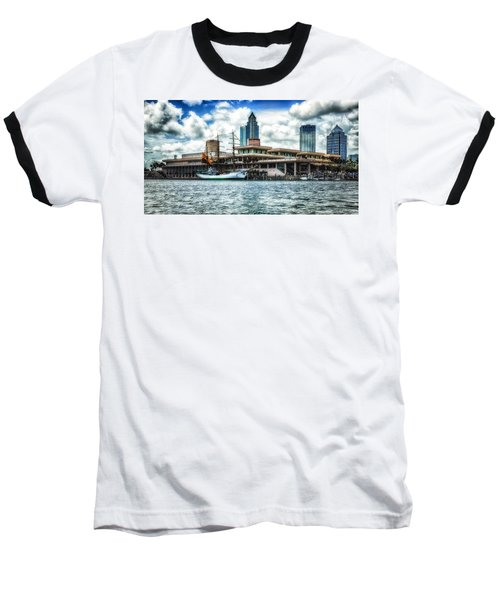 Arc Gloria In Port In Hdr Baseball T-Shirt