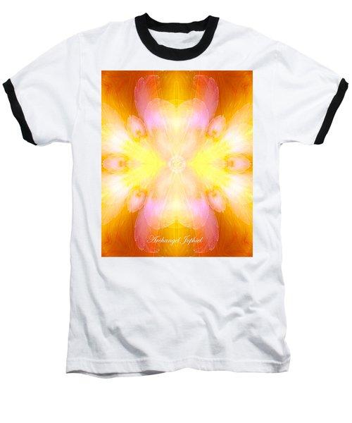 Archangel Jophiel Baseball T-Shirt by Diana Haronis