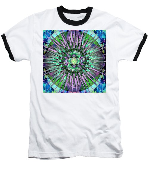 Archangels Gather Mandala Baseball T-Shirt
