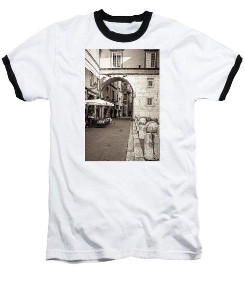 Archway Over Street Baseball T-Shirt