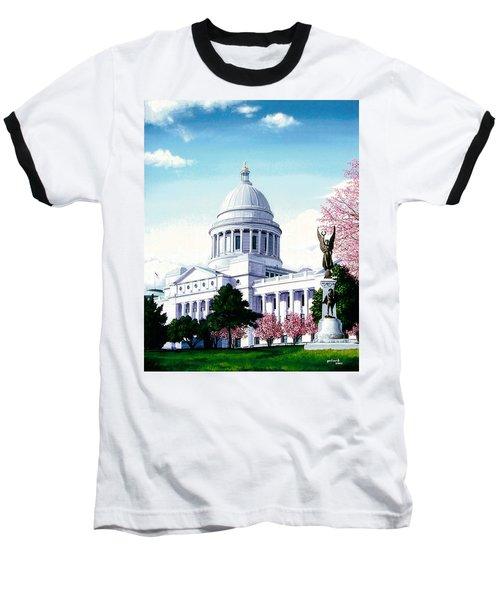 Arkansas Capitol Blossoms Baseball T-Shirt