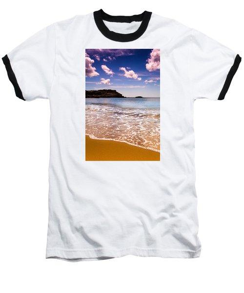 Around The Sea Baseball T-Shirt