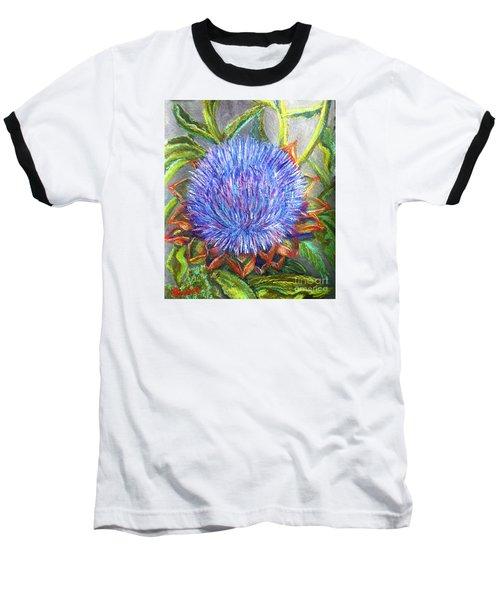 Artichoke Blossom Baseball T-Shirt