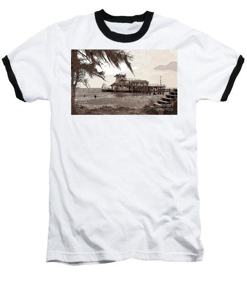Tugboat From Louisiana Katrina Baseball T-Shirt