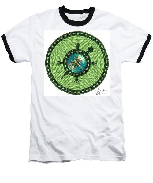 Ashlee's Dragonfly Turtle Baseball T-Shirt