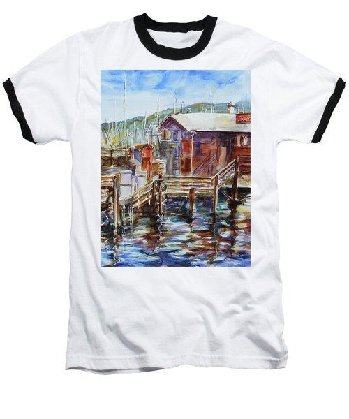 At Monterey Wharf Ca Baseball T-Shirt