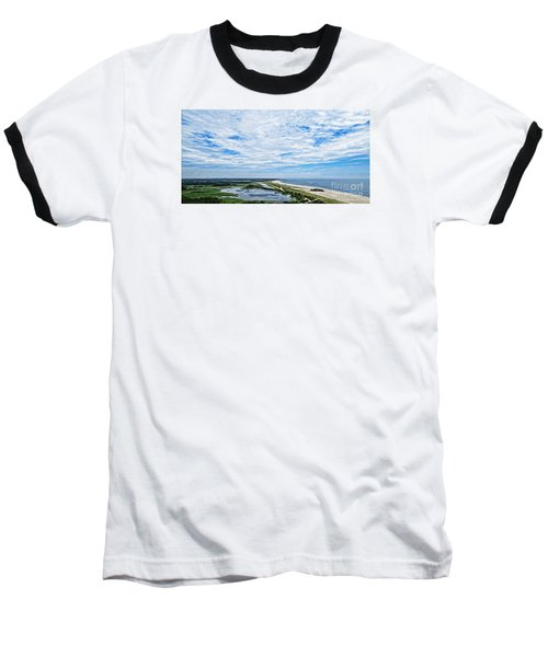 At The Top Of The Lighthouse Baseball T-Shirt