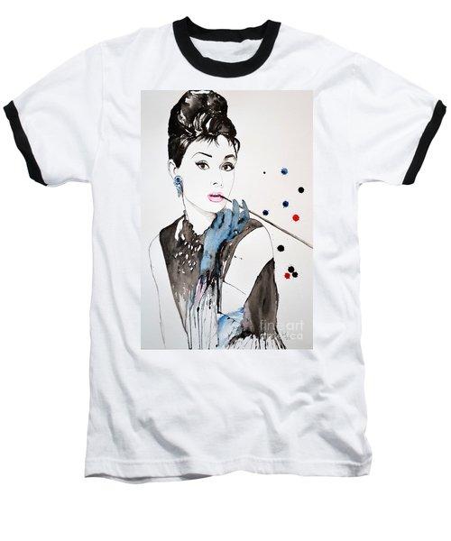 Audrey Hepburn Baseball T-Shirt