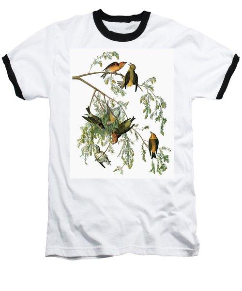 Audubon Crossbill Baseball T-Shirt