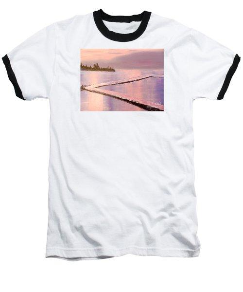 Austinmer Pool At Sunset Baseball T-Shirt