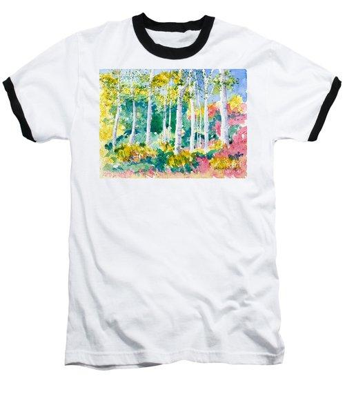 Autumn Aspen Baseball T-Shirt