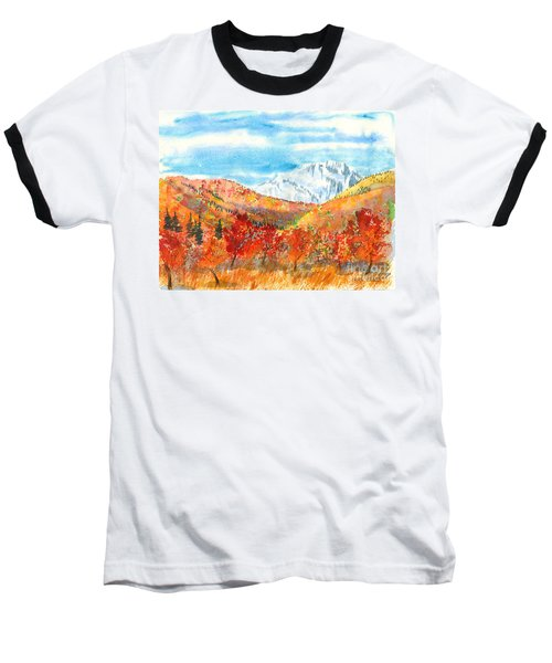 Autumn Colors Baseball T-Shirt