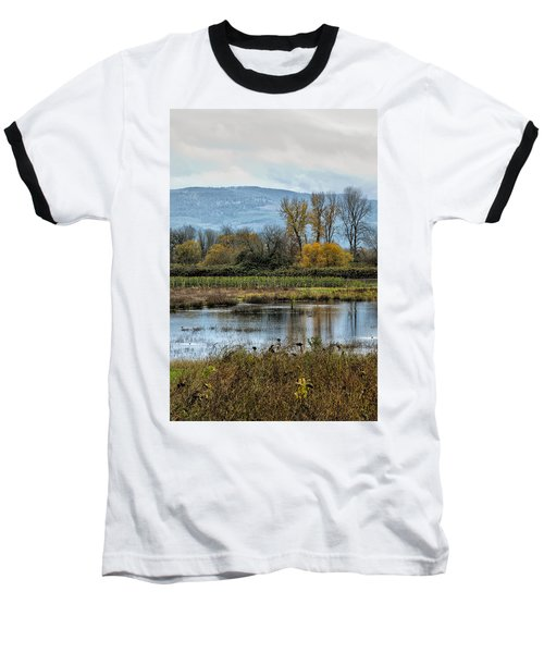 Baseball T-Shirt featuring the photograph Autumn Haven by Belinda Greb