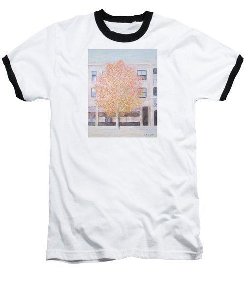 Autumn In Chicago Baseball T-Shirt