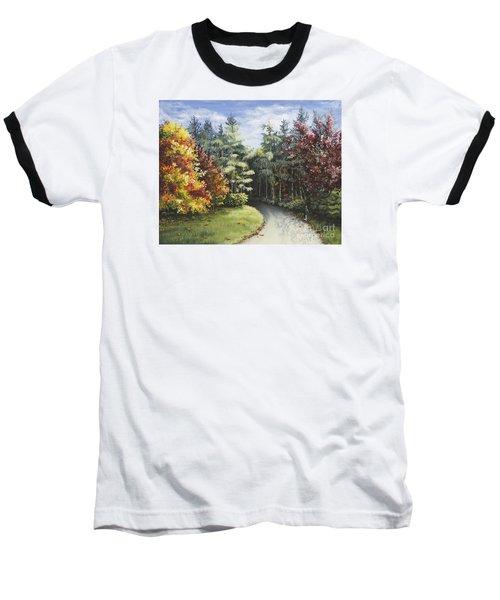 Autumn In The Arboretum Baseball T-Shirt