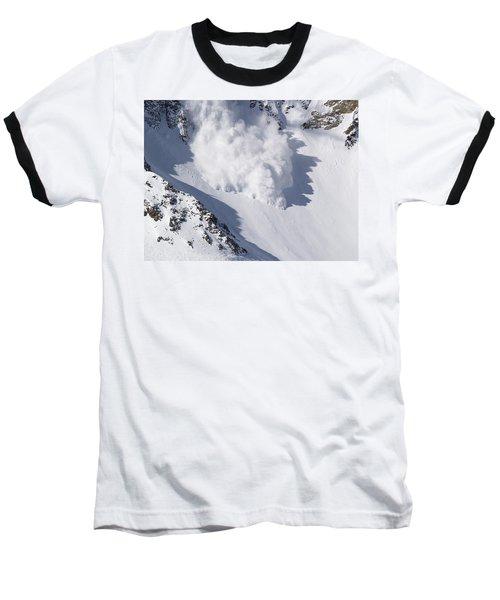 Avalanche IIi Baseball T-Shirt by Bill Gallagher